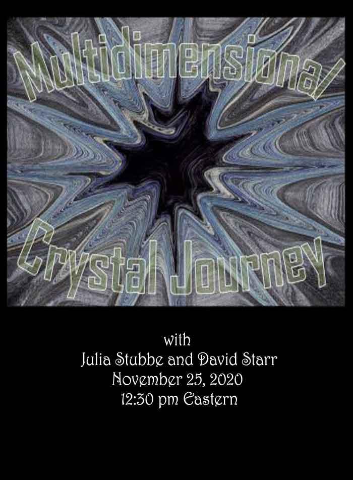 Crystal Journey Energy Healing with Julia Stubbe
