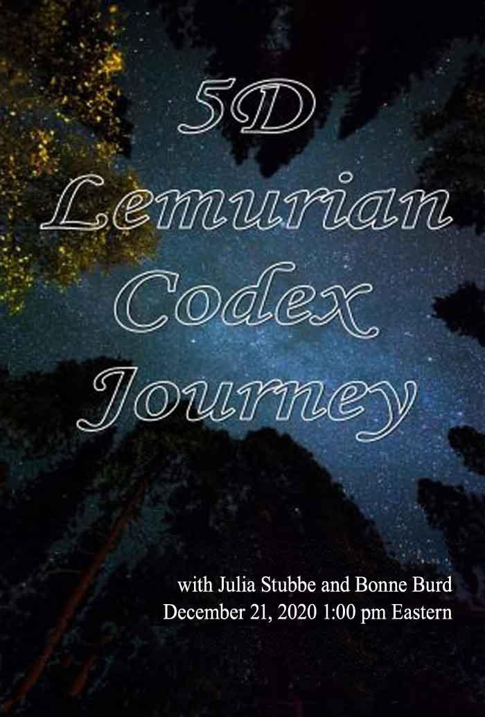 5D Lemurian Codex Journey, Julia Stubbe, Bonnie Burd